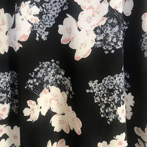 Wet Seal Dresses - Black Floral Dress